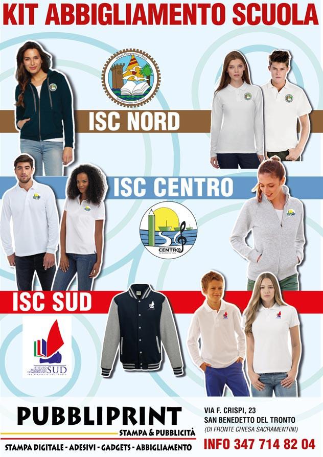 abbigliamento scuola isc-nord isc-sud
